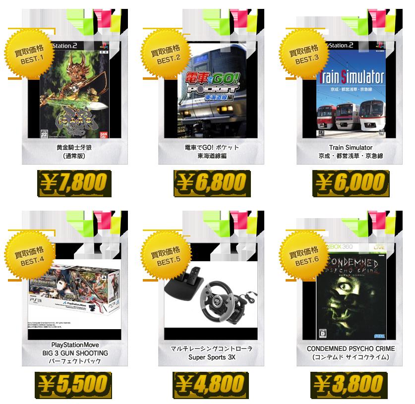 昭和堂 大阪 古本・雑誌 専門書 注目の買取商品 GAME