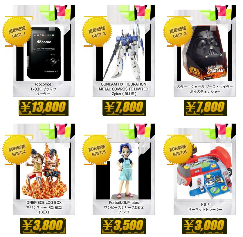 昭和堂 大阪 古本・雑誌 専門書 注目の買取商品 おもちゃ・白ロム